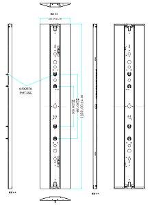 一体型LEDベースライト40形×2灯定格出力型器具相当LED蛍光灯40W形125cmLED蛍光灯器具40W型蛍光灯照明器具逆富士式逆富士形LED照明防虫直付型Dスタイル5200lmタイプ昼白色5000KFLR40235Y【beamtec】