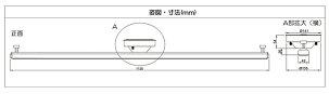ダクトレール1mライティングレールシーリング用ライティングバー配線ダクト天井照明照明器具ペンダントライトスポットライト簡易取付式耐荷重5kg以上DRS100W白/DRS100K黒【beamtec】