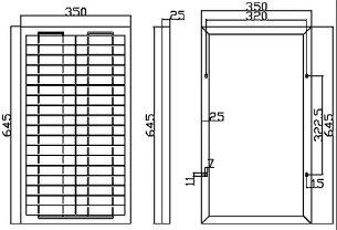 太陽光パネル30W超高品質単結晶シリコン