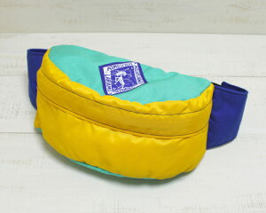 ATMOSPHERE MOUNTAIN WORKS Fanny Pack M / waist Mint Yellow Blue アトモスフィア マウンテンワークス ファニー パック Mサイズ / ウエスト ミント イエロー ブルー made in usa アメリカ製 atmosphere