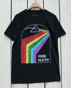 Bravado × Pink Floyd Print T-Shirts / shortsleeve tee 「 Darkside of The Moon Tour 72 」 Black ブラバド / ピンクフロイド プリント Tシャツ / バンド ロック 半袖 ブラック rock vintage