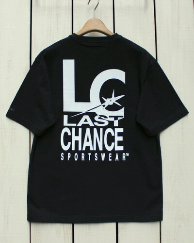 トップス, Tシャツ・カットソー Last Chance Back Print SS Pocket Tee oversize Black T last 90s