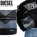 ディーゼル DIESEL メンズ ショルダーバッグX05046 P0023 H4933 V4CROSS鞄 デニム ミニバッグ