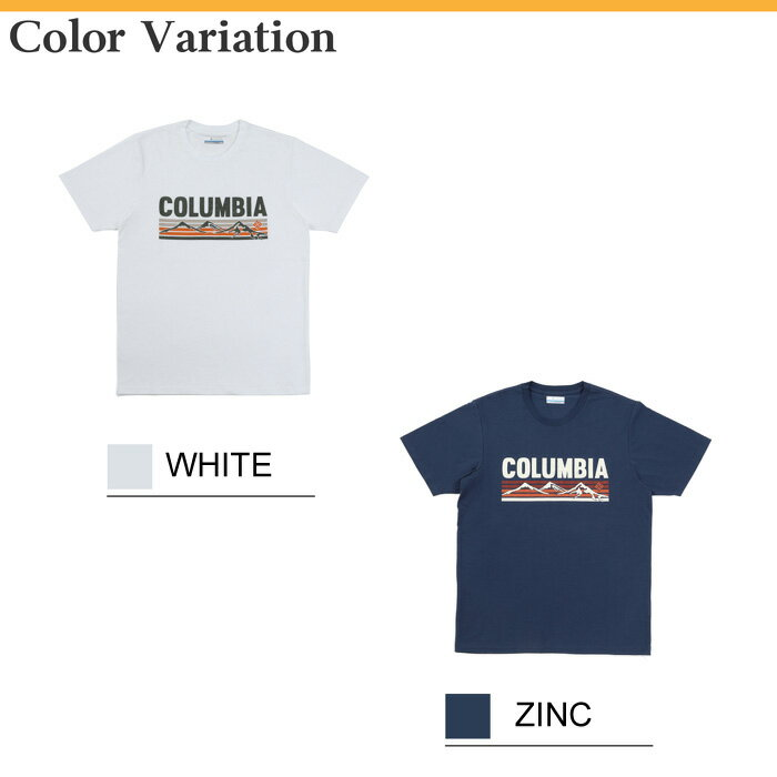 T columbia back outdoor short sleeve tee for Cross counter tv shirts