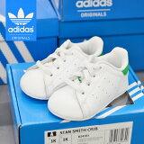 アディダススニーカースタンスミスベビーキッズサイズ/adidasSTANSMITHCRIBB24101/アディダス送料無料靴シューズオリジナルスORIGINALSホワイト×グリーン