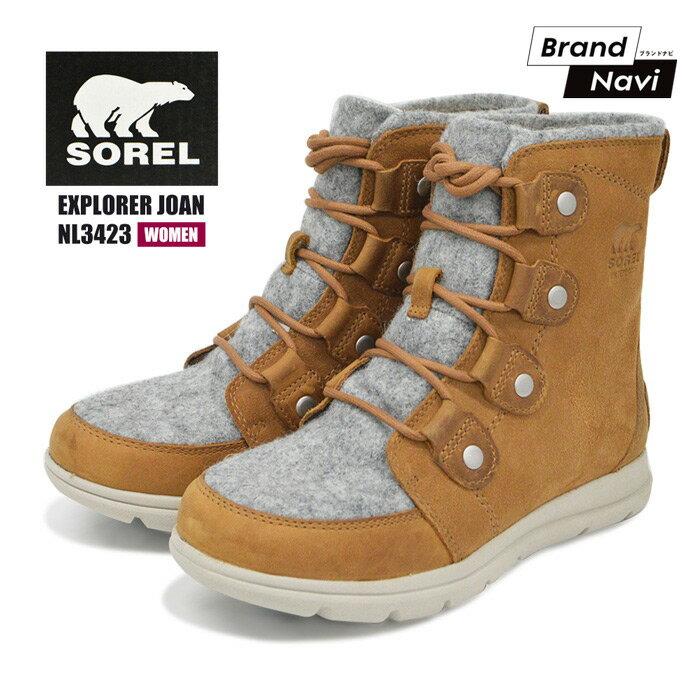 レディース靴, スノーシューズ 1 SOREL EXPLORER JOAN NL3423