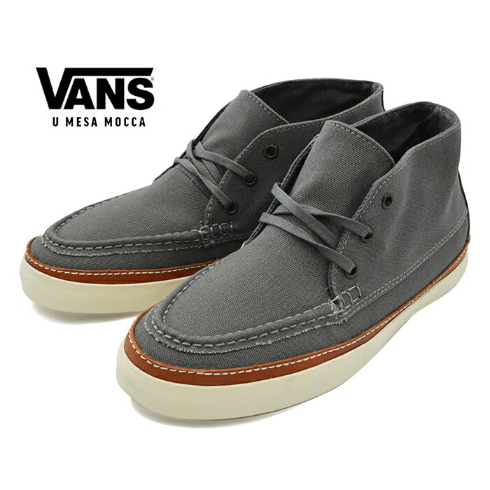 メンズ靴, スニーカー 1 VANS U MESA MOC CA 10 OZ CANVAS 10