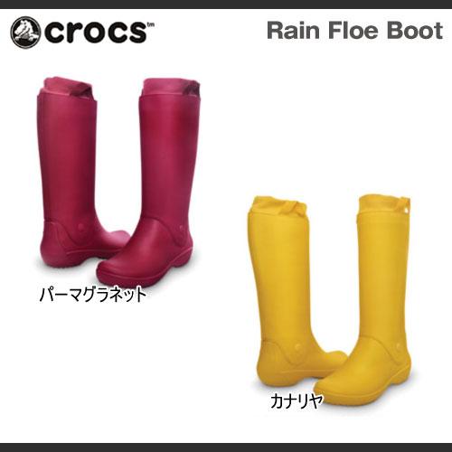 【レディース】クロックスレインフローブーツウィメンズCrocsRainFloeBootWomensブーツ長靴レインブーツ【RCP】