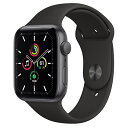 Apple Watch SE(GPSモデル) 40mm
