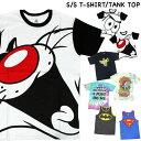 【SALE】【1点までゆうパケット可能】メンズ 半袖Tシャツ タンクトップ アメコミ スポンジボブ  ...