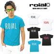 【SALE】【対象商品2点購入で送料無料】ROIAL フェルトロゴ半袖Tシャツ 全4色 メンズ ロイアル サーフ SURF カリフォルニア TS516【RCP】【あす楽対応】