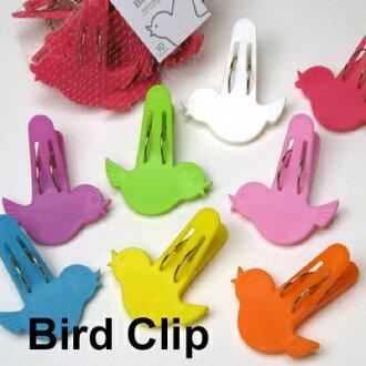 Cute little bird's clothespins set 10 pieces