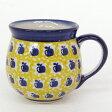 【ポーランド食器・陶器】ポーリッシュポタリー りんご柄マグカップS 0.2L マニュファクトゥラ社 K67-ALC26Aポーリッシュ・ポタリー