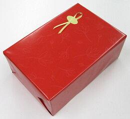 ラッピング赤の包装紙