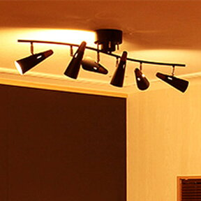 【送料無料】シーリングライトリモコン付6灯シスベックリモート[SIXBECREMOTE]BBS-002ボーベル[beaubelle]【スポットライト照明スポット照明天井照明リビング用照明器具リモコン6畳8畳調光調色ランキング通販おしゃれ天井】10P21Feb15
