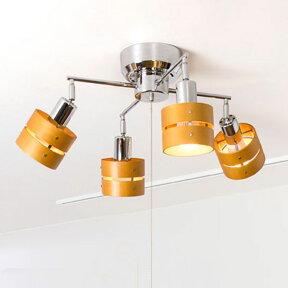 【送料無料】シーリングライトLED対応・スポットライト4灯レダカイ[LedaX]ボーベル[beaubelle]|間接照明ダイニング用食卓用リビング用居間用和室和風照明おしゃれアジアン北欧天井照明ナチュラルインテリア照明器具ライト電気