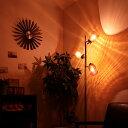 【送料無料】フロアライト 3灯 ラーレ[Lare]BBF-013 ボーベル[BeauBelle]フロアランプ フロアスタンド スタンドライト フロア 間接照明 北欧 アンティーク 寝室 おしゃれ インテリア| led ライト スポットライト スポット 照明器具 リビング用 居間用