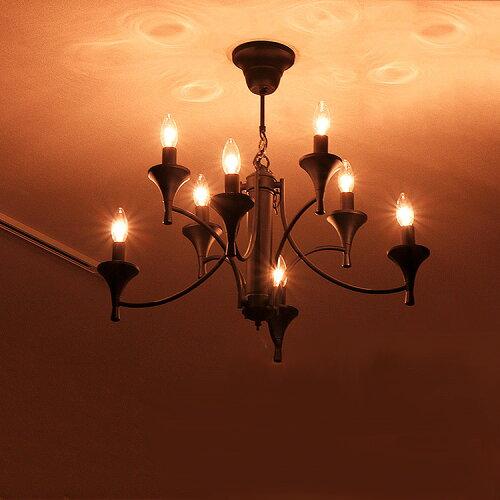 シャンデリア 8灯 エイジ[Age]BBC-007 ボーベル[beaubelle]|アンティーク 照明器具 シ...