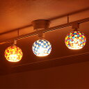 シーリングライト 1灯 ビードロ シーリング[Vidlo Ceiling]BBS-025 ボーベル[beaubelle]|間接照明 照明器具 天井照明 モザイク ガラス ステンドグラス キッチン アジアン 玄関 トイレ 階段 廊下 レトロ おしゃれ かわいい インテリア ライト 電気 LED おしゃれ照明 天井 寝室