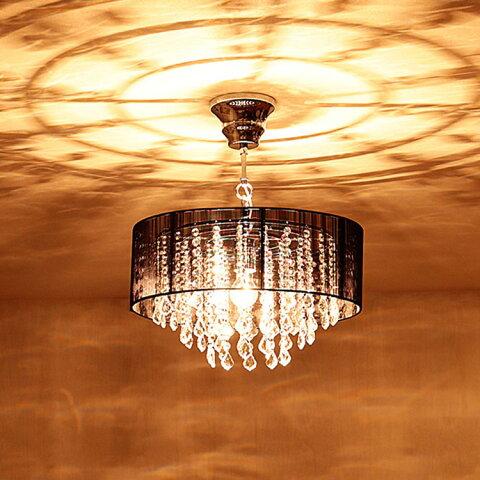 シャンデリア 1灯 ボニータ[BONITA]BBC-004|照明 照明器具 天井照明 アンティーク ガラス LED ダイニング用 食卓用 シェード おしゃれ 可愛い 姫系 ゴージャス かわいい インテリア 電気 ライト シーリング 6畳 8畳 リビング用 居間用 玄関 キラキラ 子供部屋 テレワーク