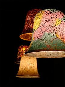 ペンダントライト1灯ビードロアンティーク[VidloAntique]BBP-070ボーベル【照明天井照明インテリア照明モザイクガラスステンドグラスキッチンアンティークレトロアジアン北欧おしゃれかわいいダイニング用食卓用新生活】【インテリア】