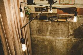 シーリングライト3灯ナロスト[NAROSTCEILINGLIGHT]LT-1654インターフォルム[interform]【インテリアシーリングランプ間接照明照明E26led対応ディスプレイスチールレトロ北欧テイスト寝室おしゃれかわいい送料無料】