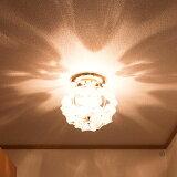 シーリングライト 1灯 ブルームプチシーリングライト[Bloom petitceilinglight]キシマ[kishima]|照明器具 シャンデリア 天井照明 花柄 プルメリア 玄関 階段 トイレ おしゃれ かわいい アンティーク 居間用 ライト 電気 リビング用 インテリア