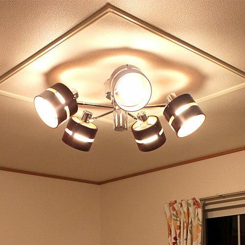 LED 対応照明 スポットライト 5灯 ライト5[LIGHT 5] NK-87008【シーリングライト 照明...