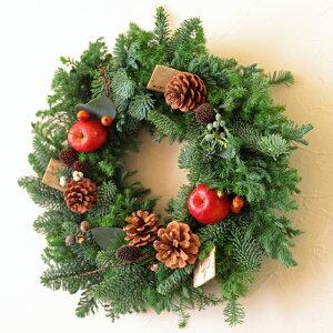 ■BeautifulBoyがお届けする【クリスマス限定商品】!クリスマスフレッシュリースChristmasFreshWreath