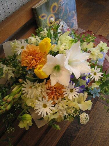 誕生日 ビジネス 開業祝い 開店 オープン 歓迎・退職用・移転祝い・などに 季節のお花を使って、ご...