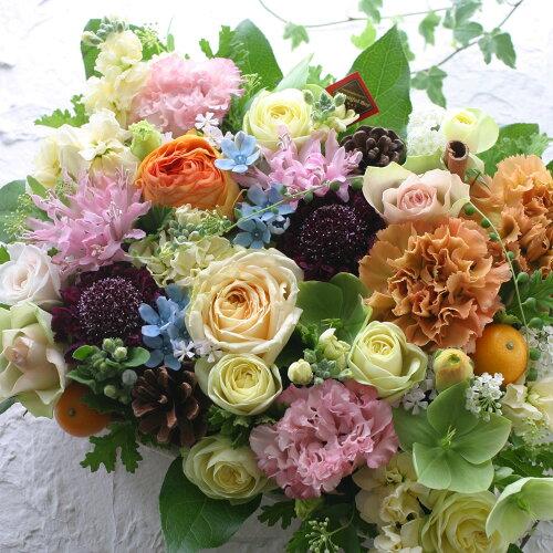 誕生日 結婚記念日 お見舞い 開店 ビジネス 開業 改築 新築 お祝い など季節のお花を使ったフラワ...