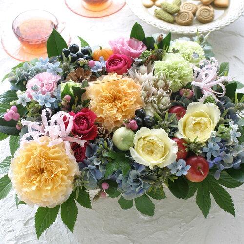 送料無料 誕生日 結婚記念日 お見舞い 開店 ビジネス 開業 改築 新築 お祝い など季節のお花を使っ...
