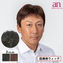 男性用ウィッグ フルウィッグ かつら ストレート 人工皮膚 手植え 軽量 自然 通気性 男性 ショート an メンズNO2 wig-st-65