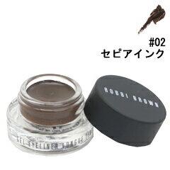 【ボビイ ブラウン】 ロングウェアジェルアイライナ— #02 セピアインク 3g 【化粧品・コスメ:メイクアップ:アイライナー】