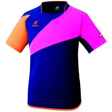 【ニッタク】 パレット2シャツ 卓球ウェア [カラー:ネイビー] [サイズ:O] #NW-2166-02 【スポーツ・アウトドア:卓球:ウェア:メンズウェア:シャツ】