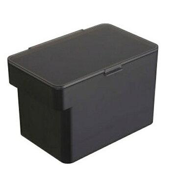 【山崎実業】 tower 密閉シンク下米びつ 5kg ブラック 【キッチン用品:容器・ストッカー・調味料入れ:米びつ:プラスチック製】