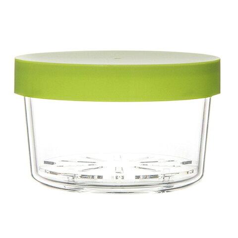 【三好製作所】 GEL‐COOL ランチボックス ROUND 400ml アスパラガスグリーン 【キッチン用品:お弁当グッズ:お弁当箱:プラスチック・合成樹脂製】