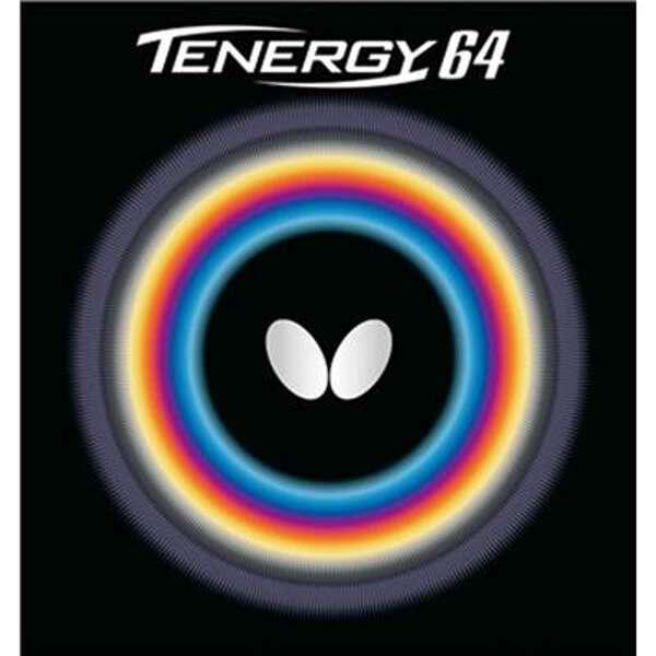 【バタフライ】 テナジー・64 卓球ラバ— [カラー:レッド] [サイズ:中] #05820 【スポーツ・アウトドア:卓球:卓球用ラバー】