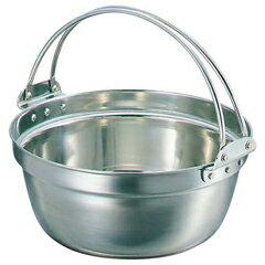 【送料無料】SW18-8吊付料理鍋51cm【和田助製作所:キッチン用品調理用具・器具両手鍋】