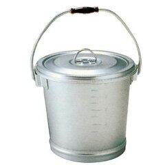 【オオイ金属】 アルマイト 丸型一重 食缶 214 12L φ295×H245 【キッチン用品:容器・ストッカー・調味料入れ:保存容器(材質別)】【アルマイト 丸型一重 食缶】