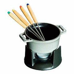 【送料無料】【ストウブ】ストウブミニチョコレ−トフォンデュグレ−40509-586【キッチン用品:調理用具・器具:フォンデュ鍋】