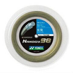 【ヨネックス】 バドミントンガット ナノジー98 ロール巻き [カラー:コスミックゴールド] [サイズ:長さ200m] #NBG98-2 【スポーツ・アウトドア:バドミントン:ガット】