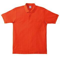 【マキシマム】 CVC鹿の子ドライポロシャツ(ポケット付) [カラー:オレンジ] [サイズ:GL] #MS3114-13 【スポーツ・アウトドア:その他雑貨】
