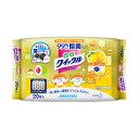 【花王】 食卓クイックル ウェットクロス レモンの香り 20枚入り 【...