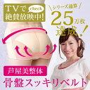 芦屋美整体 骨盤スッキリベルト 1枚(最新版 2013年モデル)