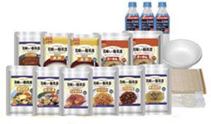 美味しい防災食スペシャルセット(保存水有)BS10 【美味しさそのまま!UAA食品 災害対策 非常食 常温長期保存食 防災対策】