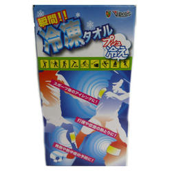 プシュ冷え セット品 【冷凍タオル 暑さ対策 猛暑対策 熱中症対策】