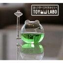 遊んで学べる科学おもちゃ 晴雨予報グラス ザ・フロッグ ウェ