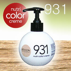 revlon nutri color creme for 250 ml 931 light beige - Nutri Color Creme Revlon