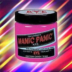 鮮やかな発色の酸性ヘアカラー 【BSP】マニックパニック ヘアカラー MC11004 コットンキャン...